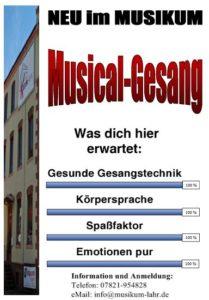 Musicalgesang